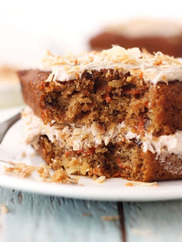 Toaster Oven Carrot Cake is a whole grain treat you must try. It's small batch size means loads of flavor without the tempting leftovers.