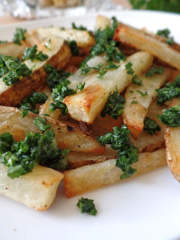 Healthy Toaster Oven Appetizers: Toaster Oven Garlic Fries