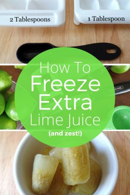How To Freeze Extra Lime Juice And Never Waste Citrus Again