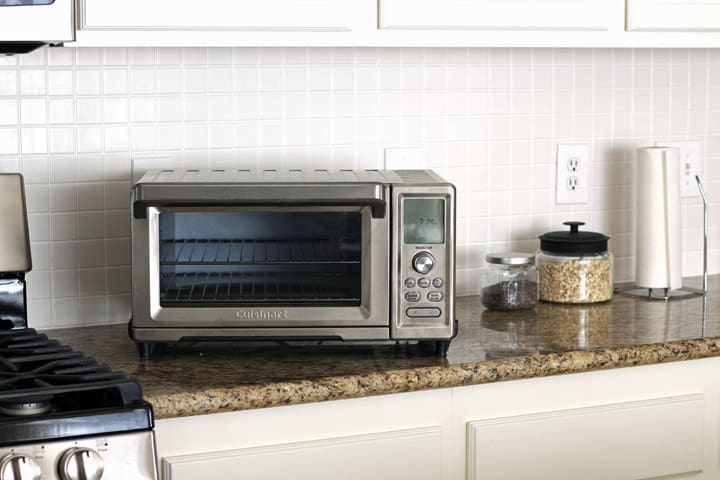 Meet our new toaster oven and read a 3 months review of the Cuisinart Chef's Convection Toaster Oven and accessories.