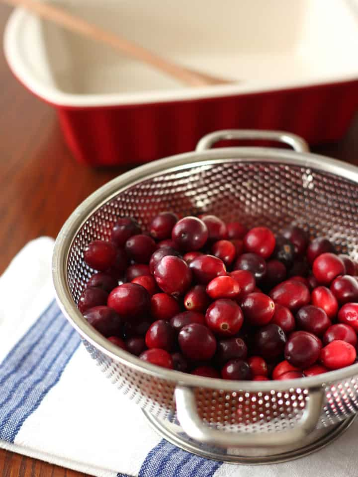 Balsamic Roasted Cranberries. Treat your guest to a sweet, tart and tangy holiday relish with this easy toaster oven recipe.