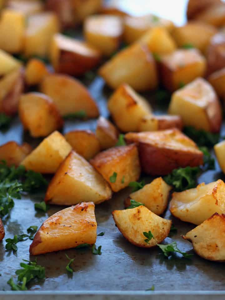 Spicy Oven-Roasted Potatoes Recipes — Dishmaps
