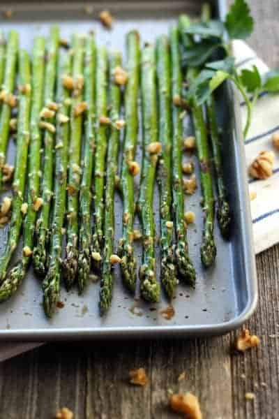 Toaster Oven Roasted Asparagus Spears