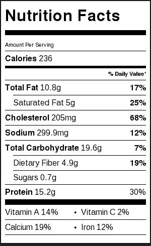 nutritional-information-baked-egg-tostadas