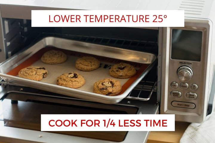 7 Things You Should Know About Convection Toaster Ovens. Including Temperature and Time Conversions.