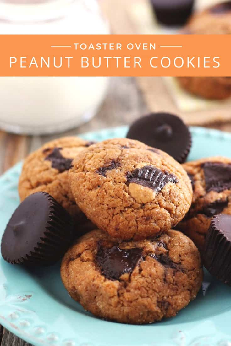 Irresistible Peanut Butter Cup Cookies (Made w/Natural PB)