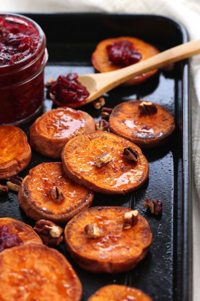 Addictive Roasted Sweet Potato Rounds (Only 30 Minutes!)