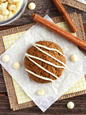 Small Batch Pumpkin Spice Cookies (Soft & Cakey with Crispy Edges)