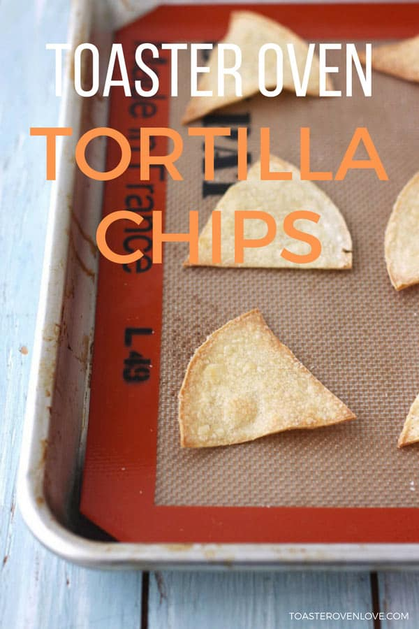 Toaster Oven Baked Corn Tortilla Chips is the easiest toaster oven snack. Bake a batch of warm, crisp, salty baked chips in less than 20 minutes using your toaster oven.