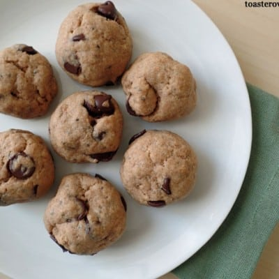 Toaster Oven Chocolate Chip Cookies