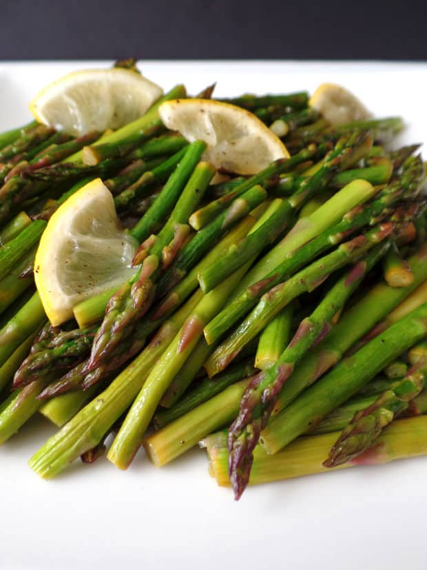 How to roast asparagus in your toaster oven roasting asparagus in a toaster oven ccuart Gallery
