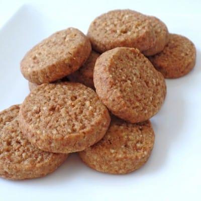Toaster Oven Lemon Almond Shortbread Cookies