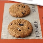 Whole Grain Soft Oatmeal Raisin Cookies for Two
