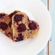 Blackberry Peach Oat Cookies