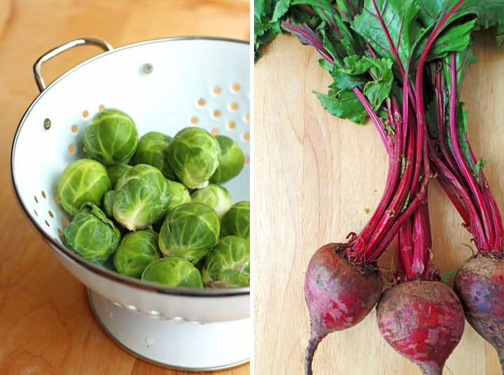 Brussels Sprouts & Beets