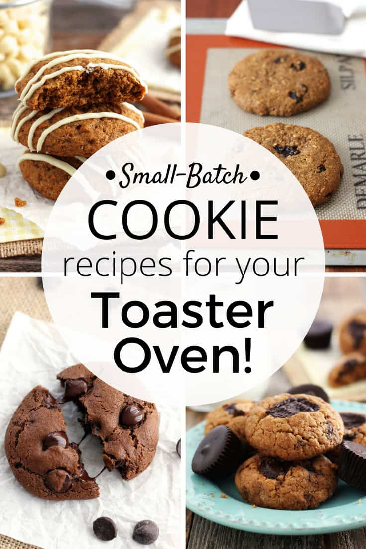 From bakery style oatmeal raisin to double chocolate chip there's a single batch toaster oven cookie recipe here for every cookie craving. Toaster Oven Cooking | Small Batch Baking | Cookies | Cooking For Two