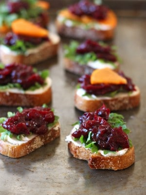 Healthy Toaster Oven Appetizers: Balsamic Roasted Cranberries