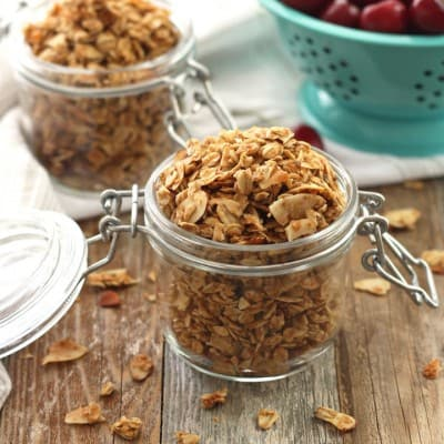 Small Batch Almond Granola