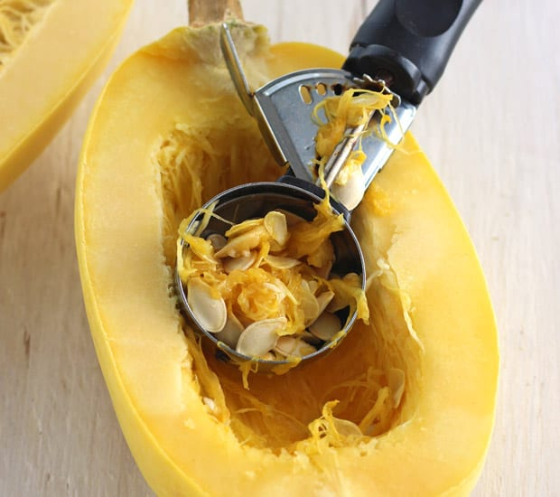 Your ultimate guide to easily cooking spaghetti squash in a toaster oven. Enjoy a healthy veggie-filled bowl of buttery roasted spaghetti squash today.