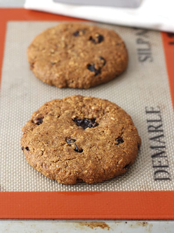 Toaster Oven Oatmeal Raisin Cookies For Two