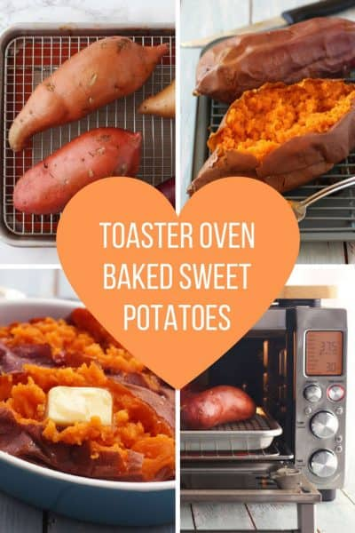 How To Bake Sweet Potatoes In Your Toaster Oven
