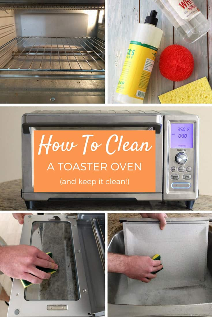 How To Clean A Toaster Oven using the manufacturer's directions with step by step photos. Keep your little oven clean and working at it's best.