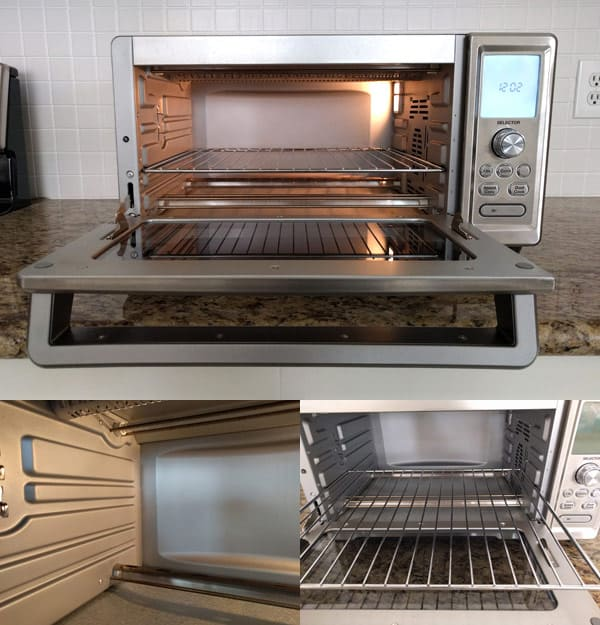 How To Clean A Toaster Oven with step by step photos and tips. It's easier than you think to keep your toaster oven clean.