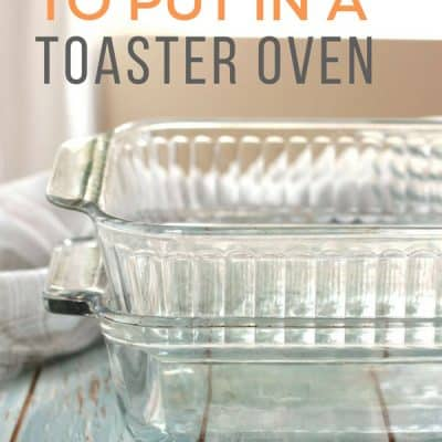 4 Surprising Things You Should Never Use In A Toaster Oven