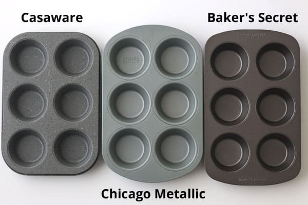 3 Types of Toaster Oven Muffin Pans