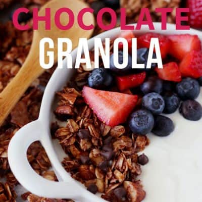 Small Batch Chocolate Granola