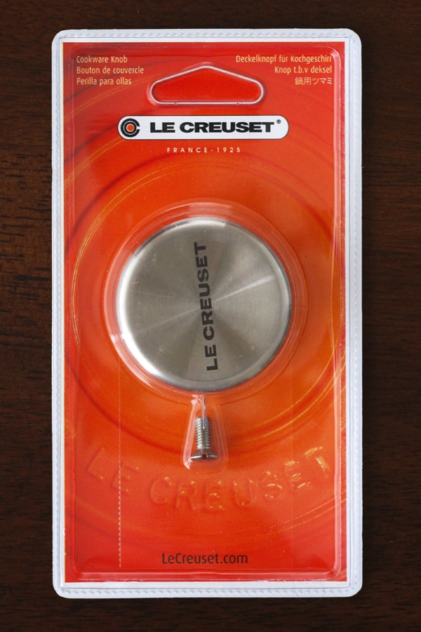 Le Creuset Stainless Steel Knob for 2.75qt Dutch Oven
