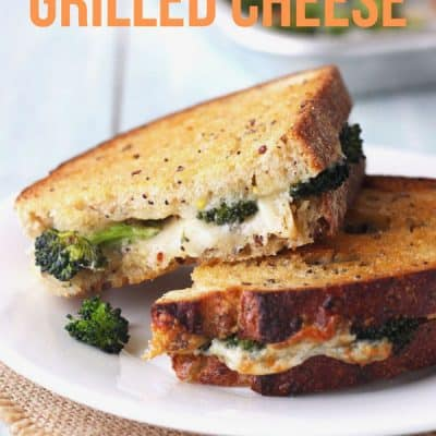 Toaster Oven Grilled Cheese Sandwich (10 minutes!)
