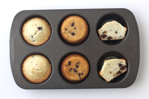 Toaster Oven Baked Muffins in a Baker's Secret Pan