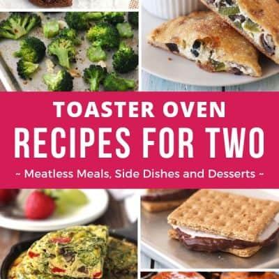 Toaster Oven Recipes For Two