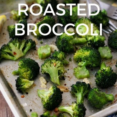 Toaster Oven Roasted Broccoli